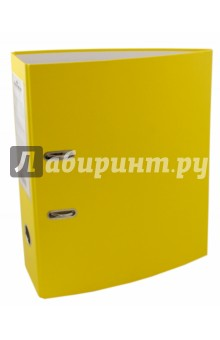 Папка-регистратор (A4, 70мм, желтая) (3210-04).
