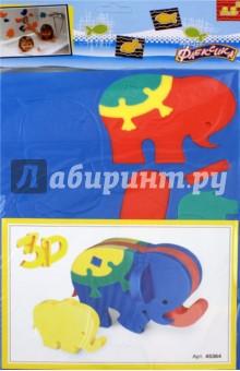 Купить Конструктор Слоник (45364), Тедико, Конструкторы из пластмассы и мягкого пластика