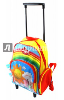 Рюкзак на колесиках с наполнением (397100) масса для лепки candy clay набор круассан