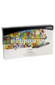 Набор художественных фломастеров Lyra, 50 цветов (L6751500)