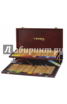 """Профессиональный набор акварельных карандашей """"Rembrant"""", 96 цветов (L2014200)"""