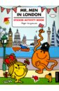 Mr. Men in London - Sticker Activity book miss gomez and the brethren