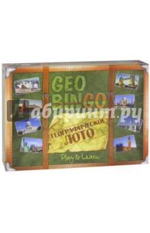 Настольная игра Geo Bingo - Географическое лото