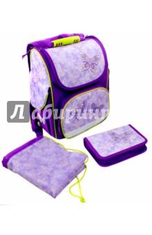 """Набор для школьницы """"Сиреневые бабочки"""" (43268)"""