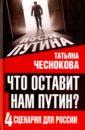 Чеснокова Татьяна Юрьевна Что оставит нам Путин. 4 сценария для России