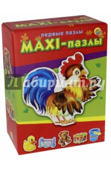 Макси-пазлы ПЕРВЫЕ ПАЗЛЫ (ПМ-9572) пазлы бомик пазлы книжка репка