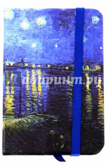 "Блокнот ""Винсент Ван Гог"" (96 листов, А7, на резинке, в ассортименте) (М-3539)"