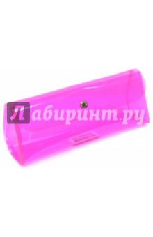 Пенал-косметичка Neon,пластик,кнопка. (ISP009) zipit пенал neon pouch цвет розовый