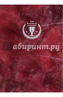 Блокнот Top Business Awards (А5, линованный, красный мрамор) блокнот top business awards а5 линованный