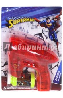 Пистолет с мыльными пузырями Superman (Т59656) веселая затея игрушка с мыльными пузырями пистолет со звуковыми эффектами 90 мл