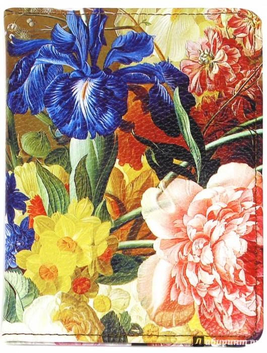 """Иллюстрация 1 из 6 для Обложка для паспорта """"Floria"""" (9,5x14 см) (IPC005)   Лабиринт - канцтовы. Источник: Лабиринт"""