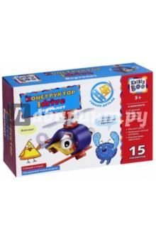 Купить Конструктор Idrive Вертолет (15 элементов) (66452), KriBly Boo, Конструкторы из пластмассы и мягкого пластика