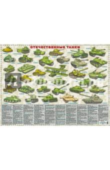 Отечественные танки. 1915 -2017 гг. Настольное издание