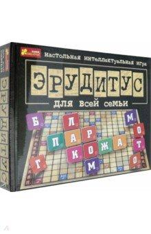 Купить Настольная игра для всей семьи Эрудитус (12120031Р), Ранок, Другие настольные игры