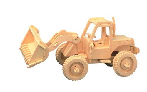"""Иллюстрация 1 из 24 для Сборная деревянная модель """"Бульдозер"""" (P029)   Лабиринт - игрушки. Источник: Лабиринт"""