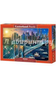 Puzzle-500 Бруклинский мост ( B-52646) puzzle 500 стокгольм швеция b 52790