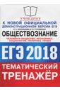 Обложка ЕГЭ 2018 Обществознание. Политика, право