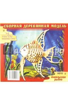 """Сборная деревянная модель """"Ангельская рыбка"""" (H010)"""