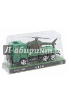 Грузовик и вертолет (64417)