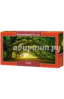 Купить Puzzle-600 Дорога в лесу (В-060030), Castorland, Пазлы (400-600 элементов)