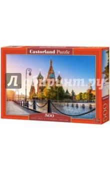Купить Puzzle-500 Собор Василия Блаженного (B-52714), Castorland, Пазлы (400-600 элементов)