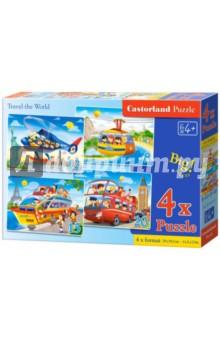 Puzzle 8х12х15х20, NEW Путешествия (В-041015) puzzle 8х12х15х20 транспорт в 043057