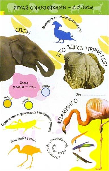 Иллюстрация 1 из 2 для Животные: В жарких странах (с наклейками и заданиями)   Лабиринт - книги. Источник: Лабиринт