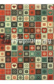 Книга для записей, 80 листов, А5 Милая мозаика (КЗЛ5802035) записные книжки канц эксмо книга для записей с поролоном 80 листов орнамент модерн букеты