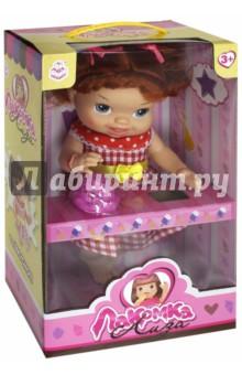 Кукла с мороженым: 2 штуки, рыжая с хвостиком (Т10375) 1toy 1toy кукла лакомка лиза с мороженым красноволосая с хвостиками 36 см
