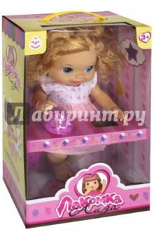 Кукла с мороженым: 2 штуки, кудрявая блондинка (Т10377) 1toy 1toy кукла лакомка лиза с мороженым красноволосая с хвостиками 36 см