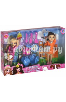 "Игровой набор из 2х кукол ""Красотка mini"" (Т10174)"