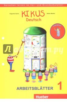 KIKUS Deutsch. Arbeitsblatter 1 (3 bis 5 Jahre) muller m optimal b1 lehrwerk fur deutsch als fremdsprache arbeitsbuch cd