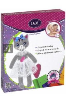Шьем игрушку из фетра Кошка Алиса (65679) большую мягкую игрушку собаку лежа в москве