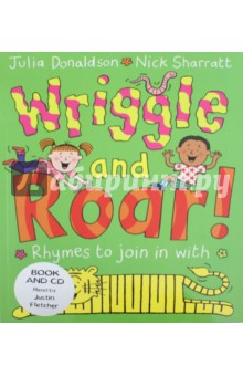 Wriggle and Roar Book (+CD) in the nick of time