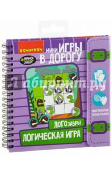 Купить Игра в дорогу ЛОГОЗАВРЫ развивающая логическая (ВВ2099), BONDIBON, Обучающие игры