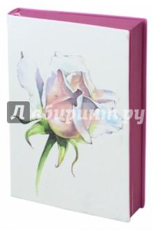 Ежедневник недатированный Роза (160 листов, А6+) (45340) ежедневник арвэй групп а6 115 165 208стр ide ox ручка фуксия 692254