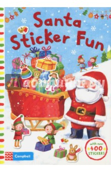 Santa Sticker Fun my snowman activity sticker book