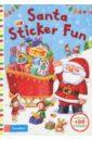 Santa Sticker Fun taplin sam first sticker book santa