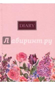 """Ежедневник недатированный """"Нежность"""" (А6+, 96 листов) (45750)"""
