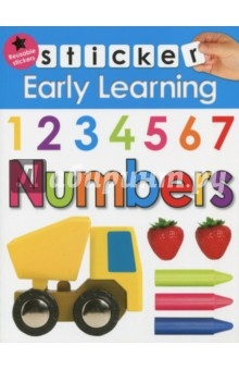 цена на Sticker Early Learning. Numbers