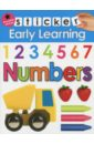 Sticker Early Learning. Numbers, Jennings Emma,Newton Robyn,Ward Kate