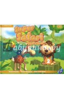 Super Safari 2. Pupil's Book + DVD-R cambridge young learners english flyers 5 answer booklet