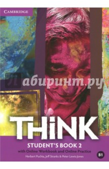 Think British English. Student's Book 2 with Online Workbook and Online Practice hewings martin thaine craig cambridge academic english advanced students book
