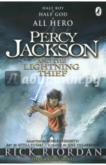Percy Jackson and the Lightning Thief. The Graphic Novel percy jackson and the lightning thief the graphic novel