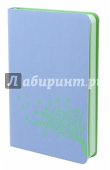 Ежедневник недатированный Софт-тач. Голубой (96 листов, А6) (45311) желай делай ежедневник