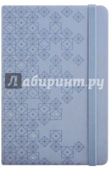 """Ежедневник недатированный """"Виннер"""" (96 листов, А5, голубой, твердая обложка) (45122)"""