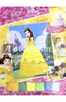 Аппликация из песка Disney Princess. Бель(03185) hasbro play doh игровой набор из 3 цветов цвета в ассортименте с 2 лет