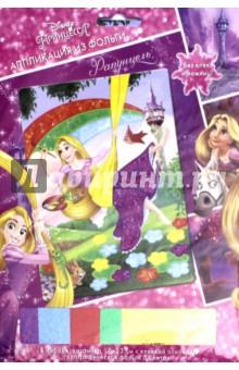Аппликация из фольги Disney Princess. Рапунцель (03188) набор цветной фольги бриз голографическая 7 цветов 1125 331