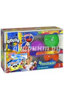Пальчиковые краски (3 цвета) (986-17) краски играем вместе пальчиковые краски multiart