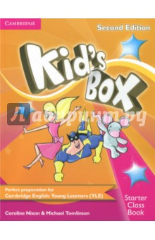 Kid's Box 2Ed Starter CB +R kid s box levels 1 2 tests cd rom and audio cd